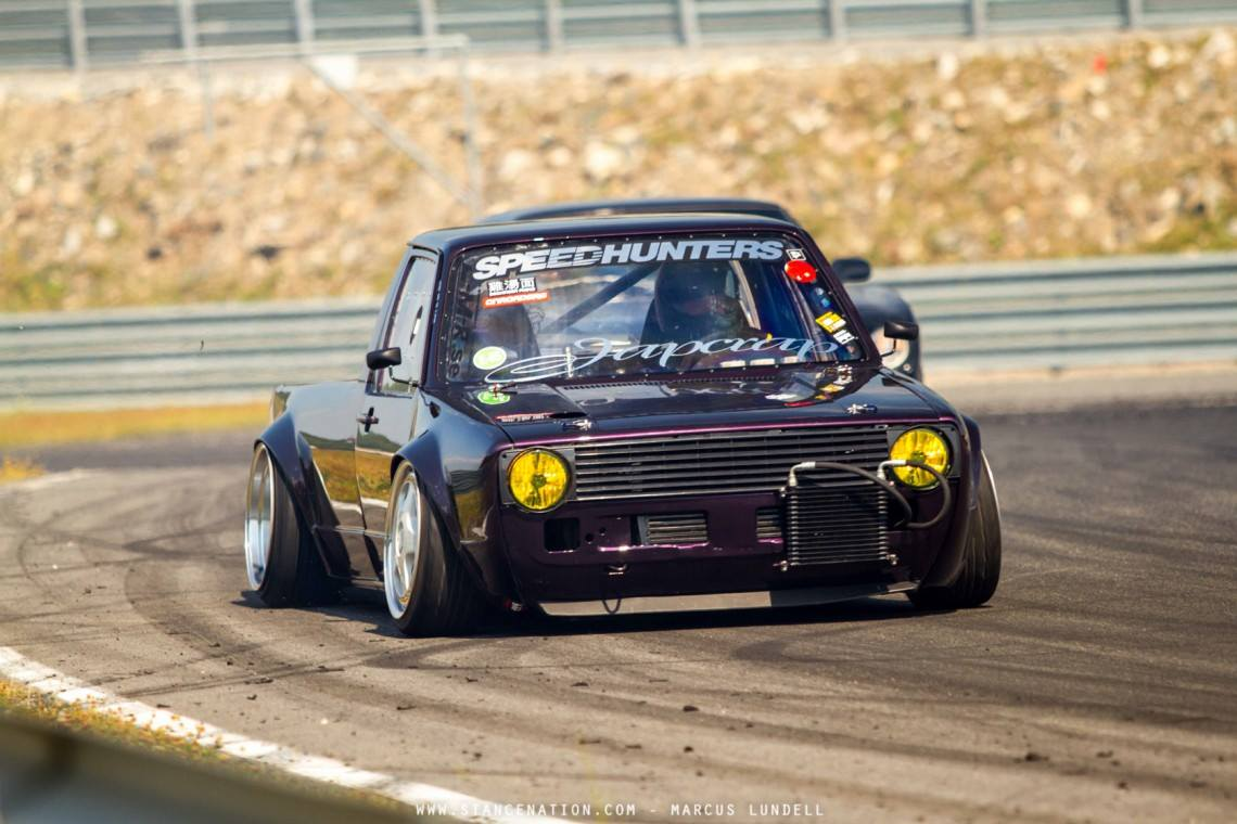Powered Vw Caddy Rad Driftcar D