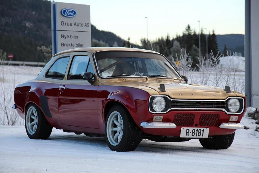 Ford Escort Mk1 With A Cosworth Engine 2l 225hp 765kg