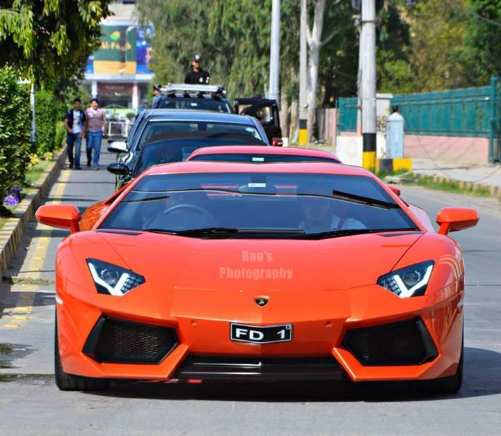 The Only Lamborghini Aventador In Pakistan