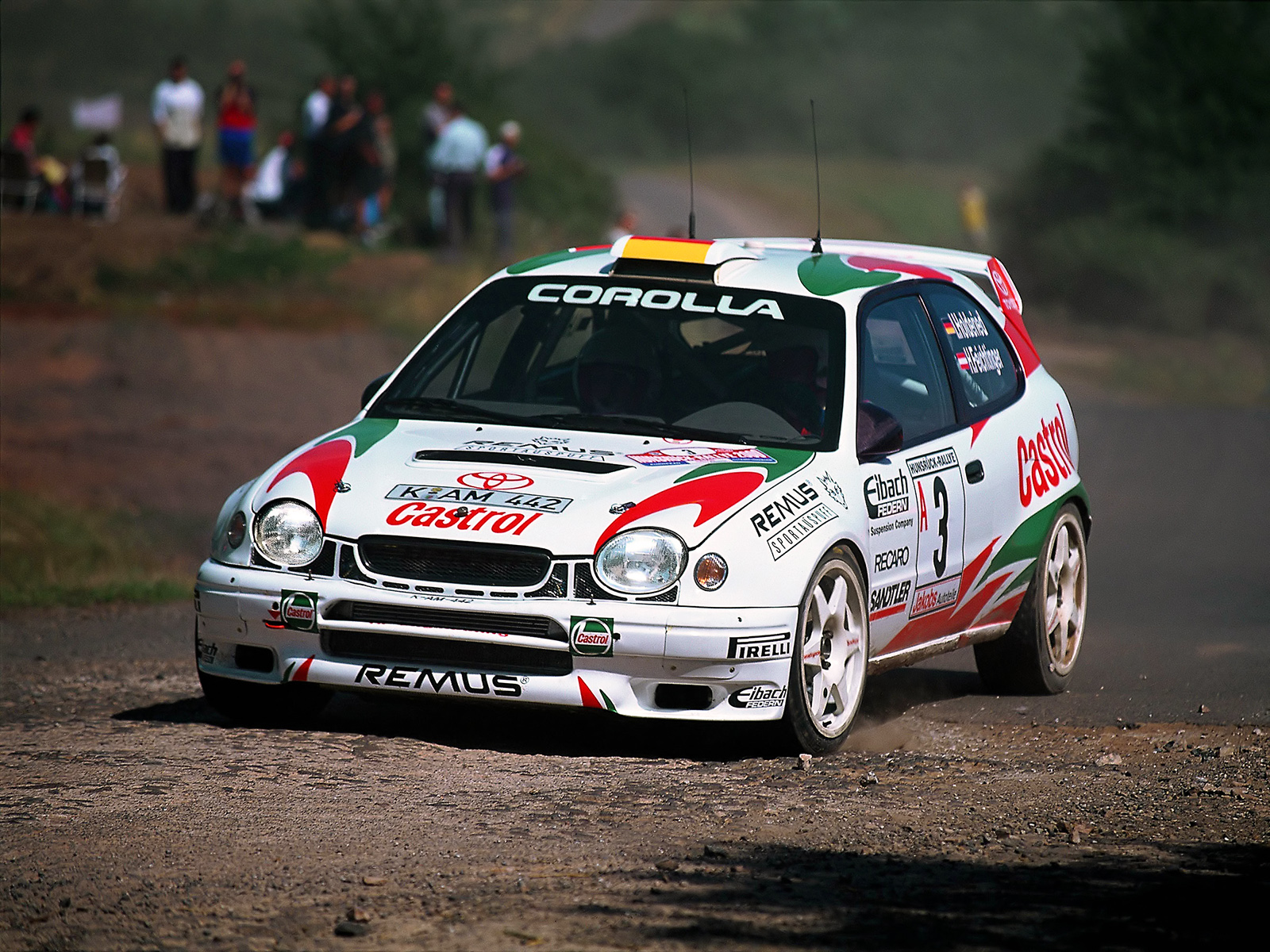 For me the most awesome WRC car ever is the Toyota Corolla What do ...