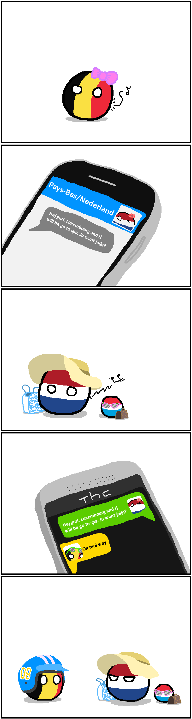 First 9gag and now countryballs: Petrolheads are everywhere