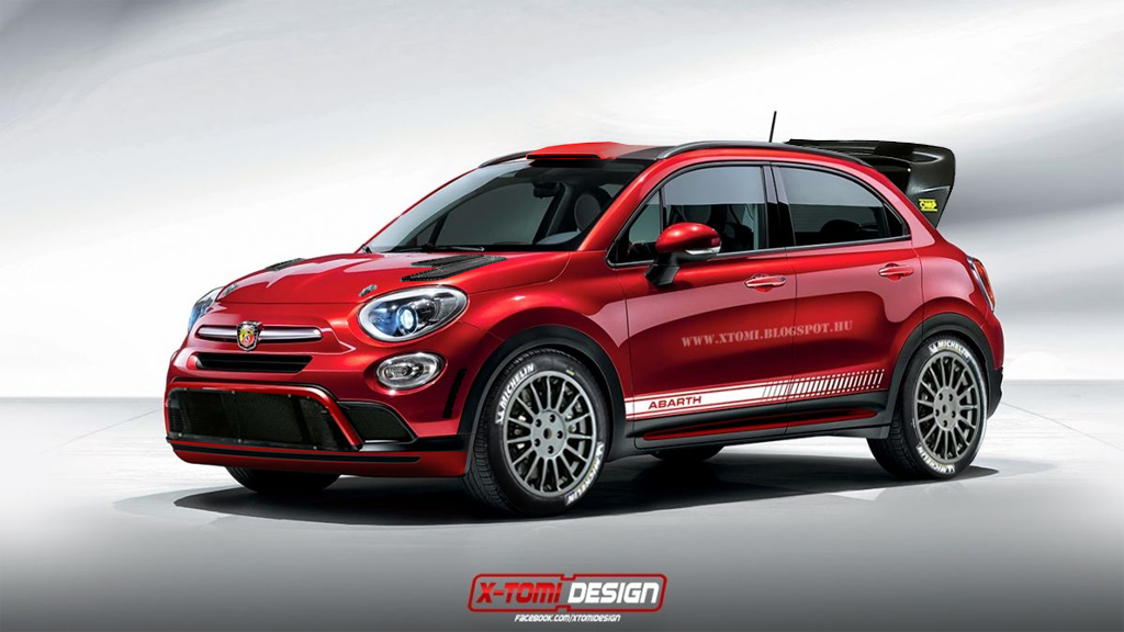 Hastily Mocked The Fiat 500x Abarth Up As A Wrc Car Thoughts
