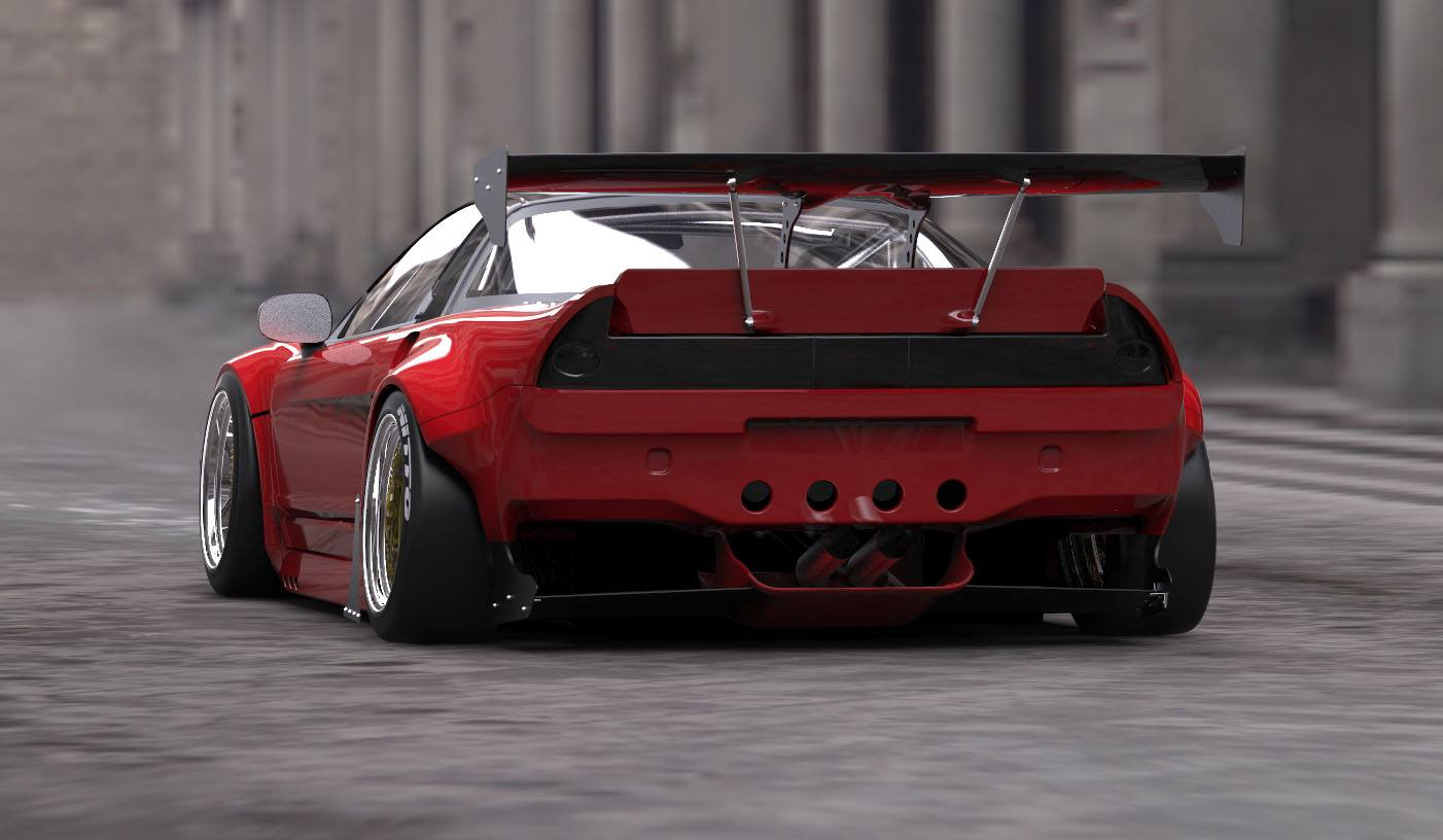 The Nsx Rocket Bunny Kit Is Here More Pics In The Comments