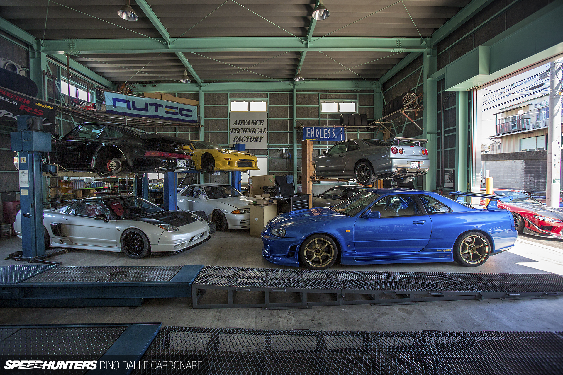 Just Your Typical Japanese Tuning Garage