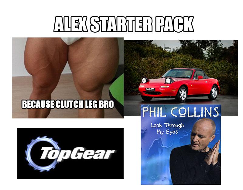alex starter pack