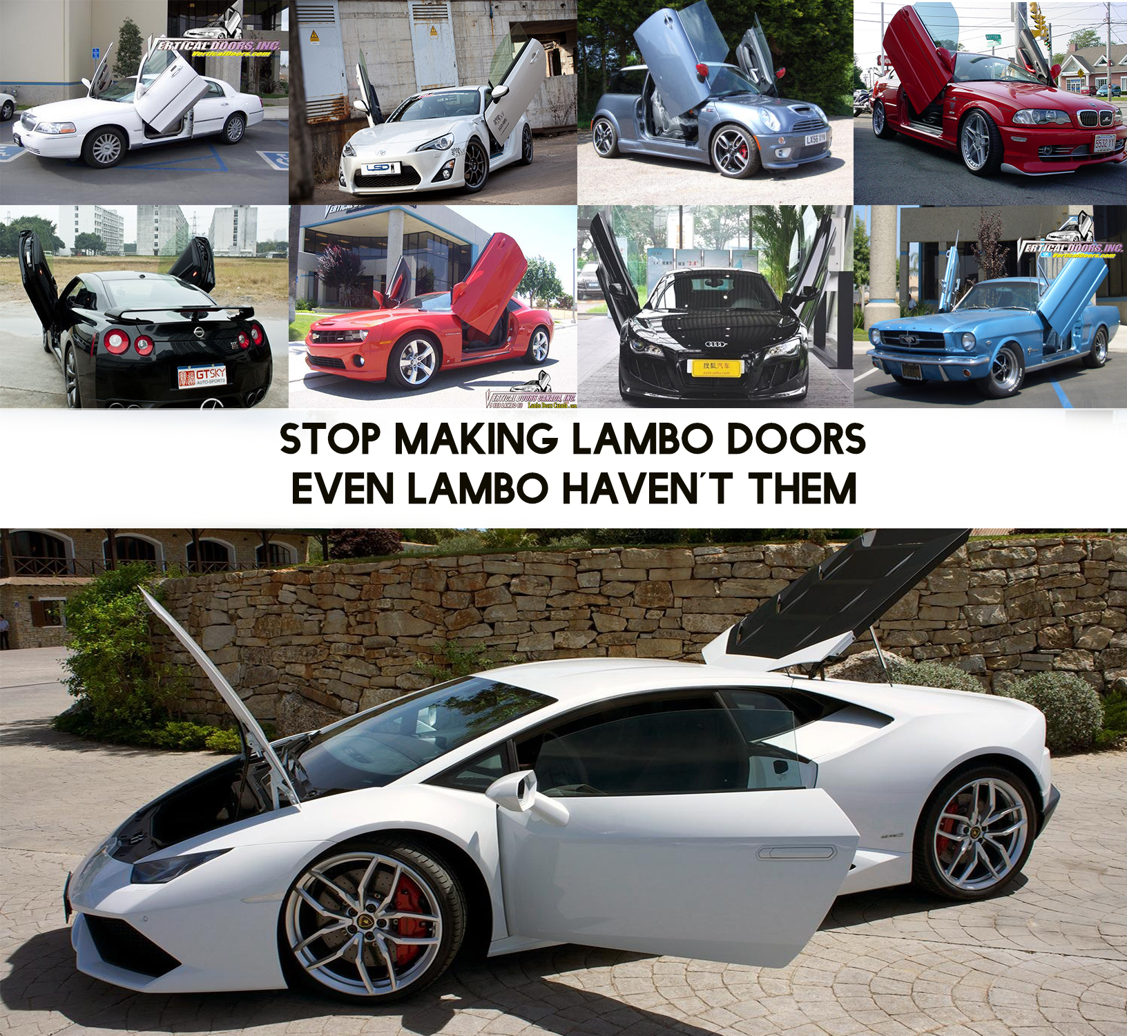 & Lambo doors pezcame.com