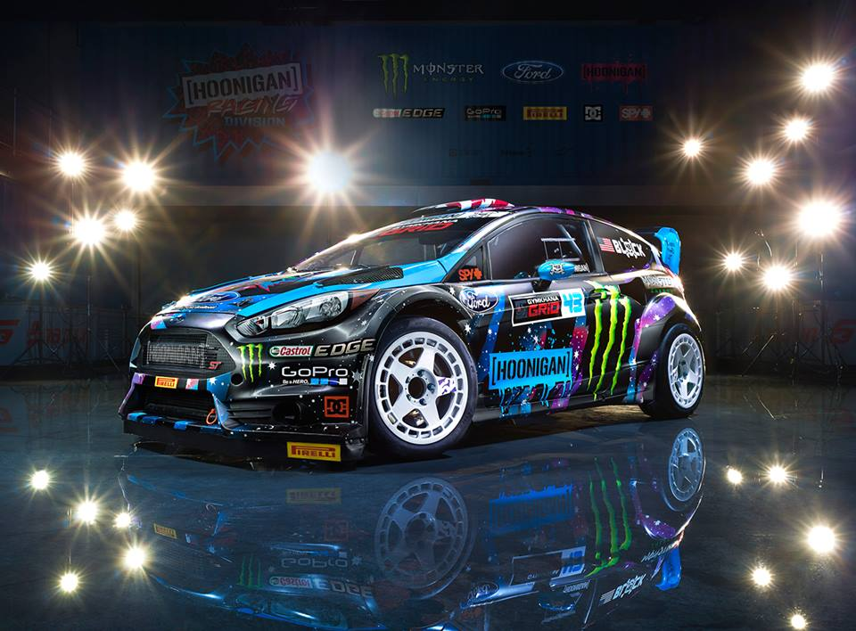 Ken Blocks Livery On The Rallycross Ford Fiesta ST RX Not - Best ford cars 2015