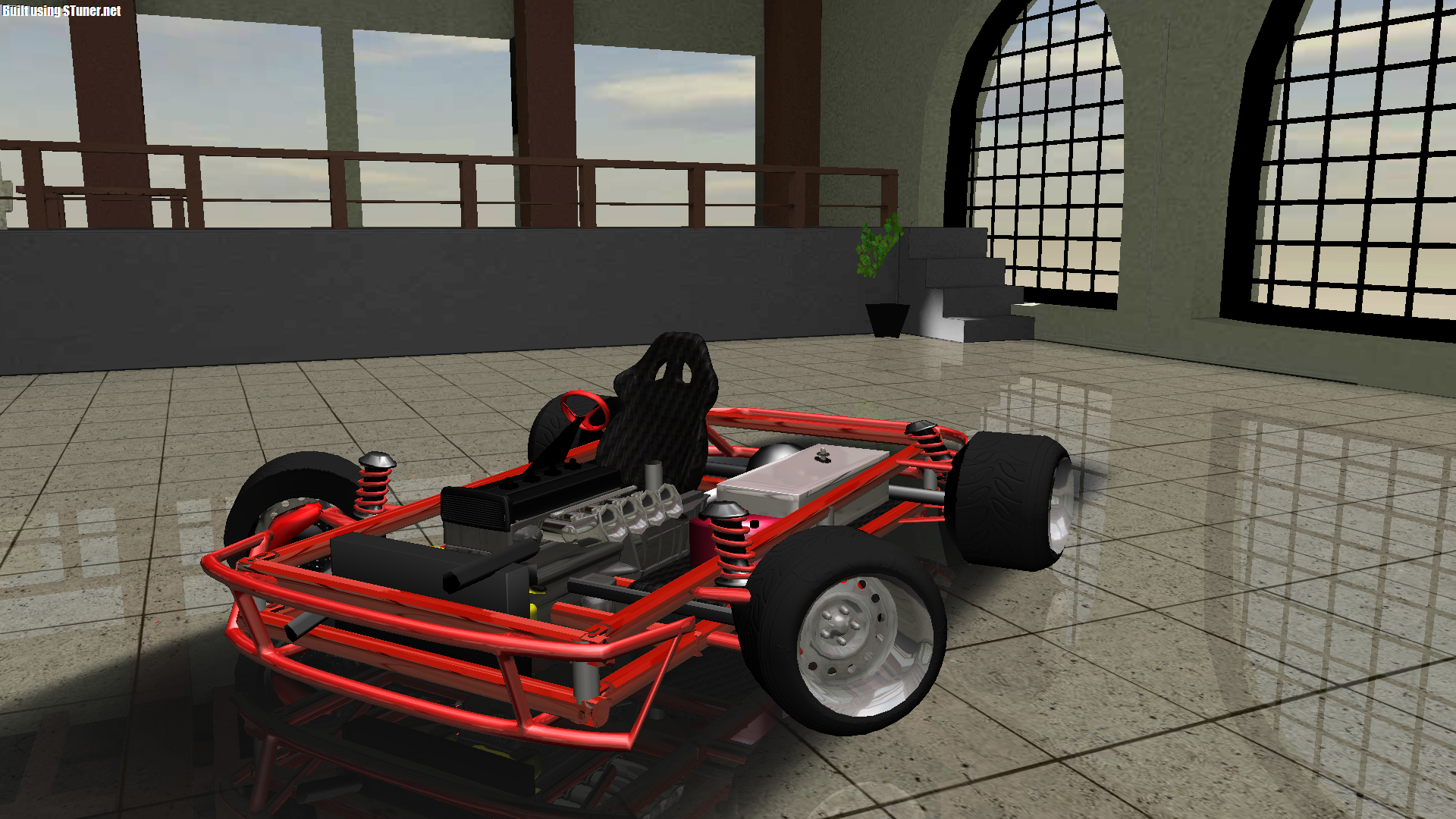 Just build this Go Kart in S-Tuners    with 4A-GE engine as well