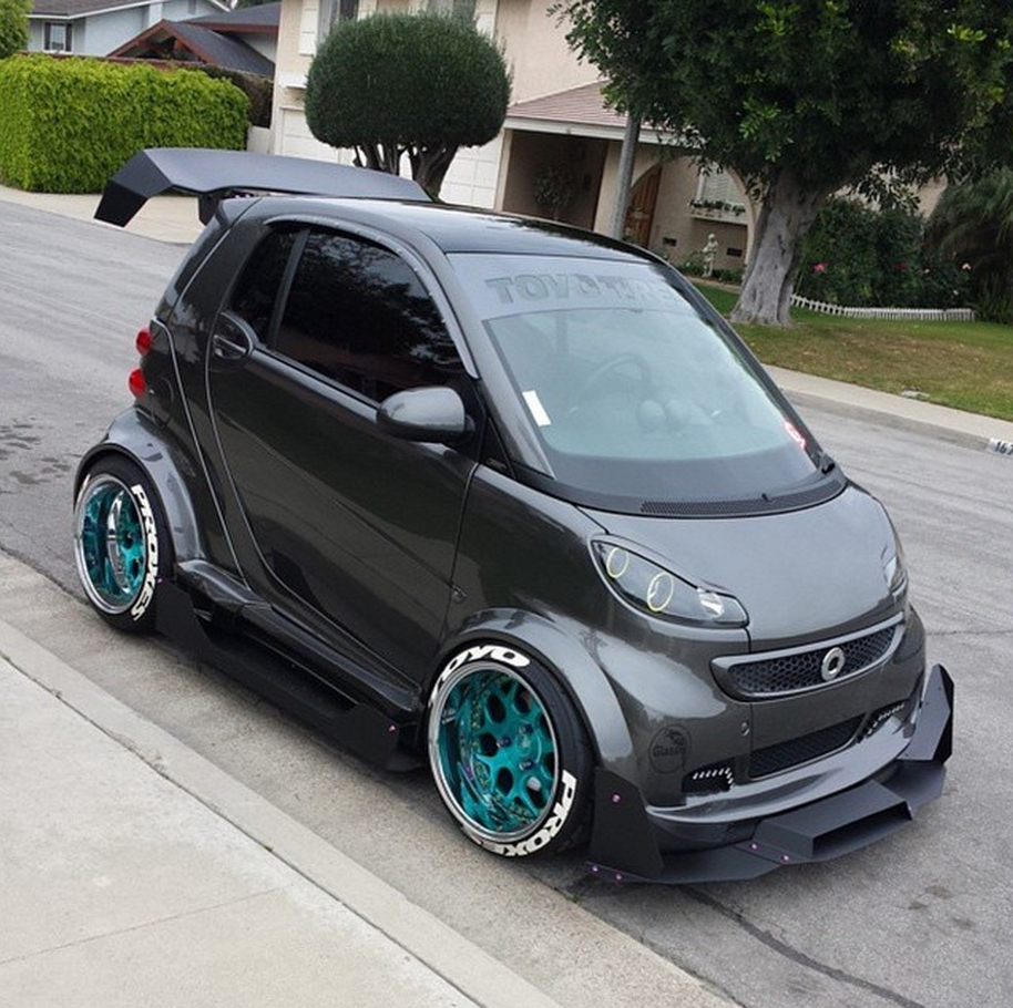 Would You Like Some Smart Car With That Down Force?