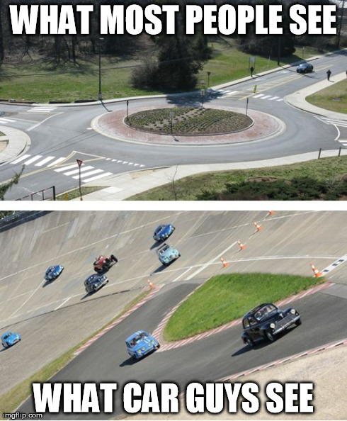 Roundabout Vs. Chicane