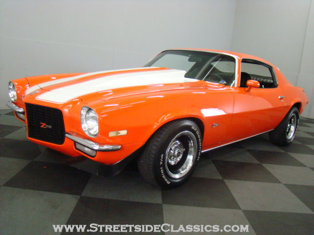 The Best Color For Any Old Or New Muscle Car Hugger Orange
