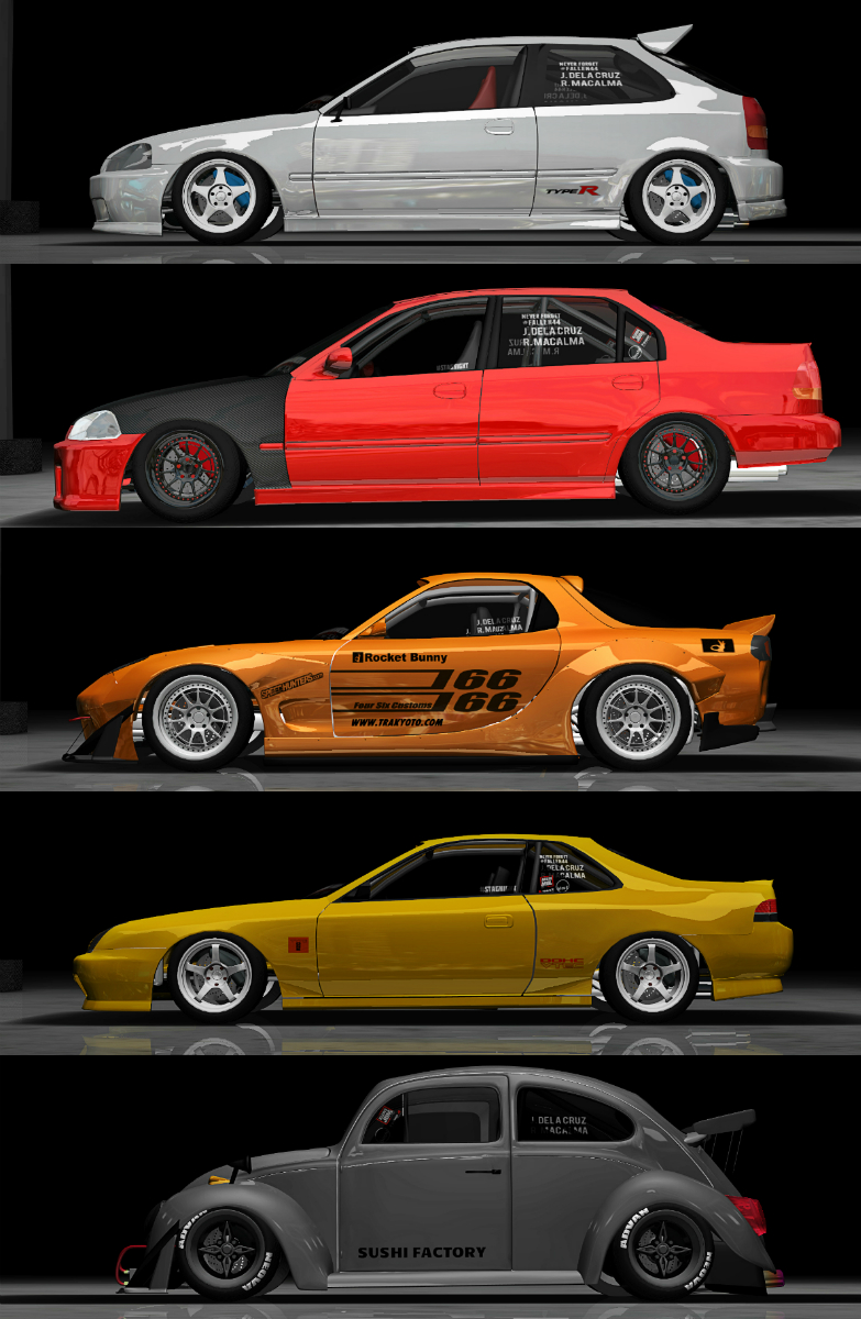 Twin Turbo Wrx Sti >> some of my recent stuner.net builds, which one's your favorite?