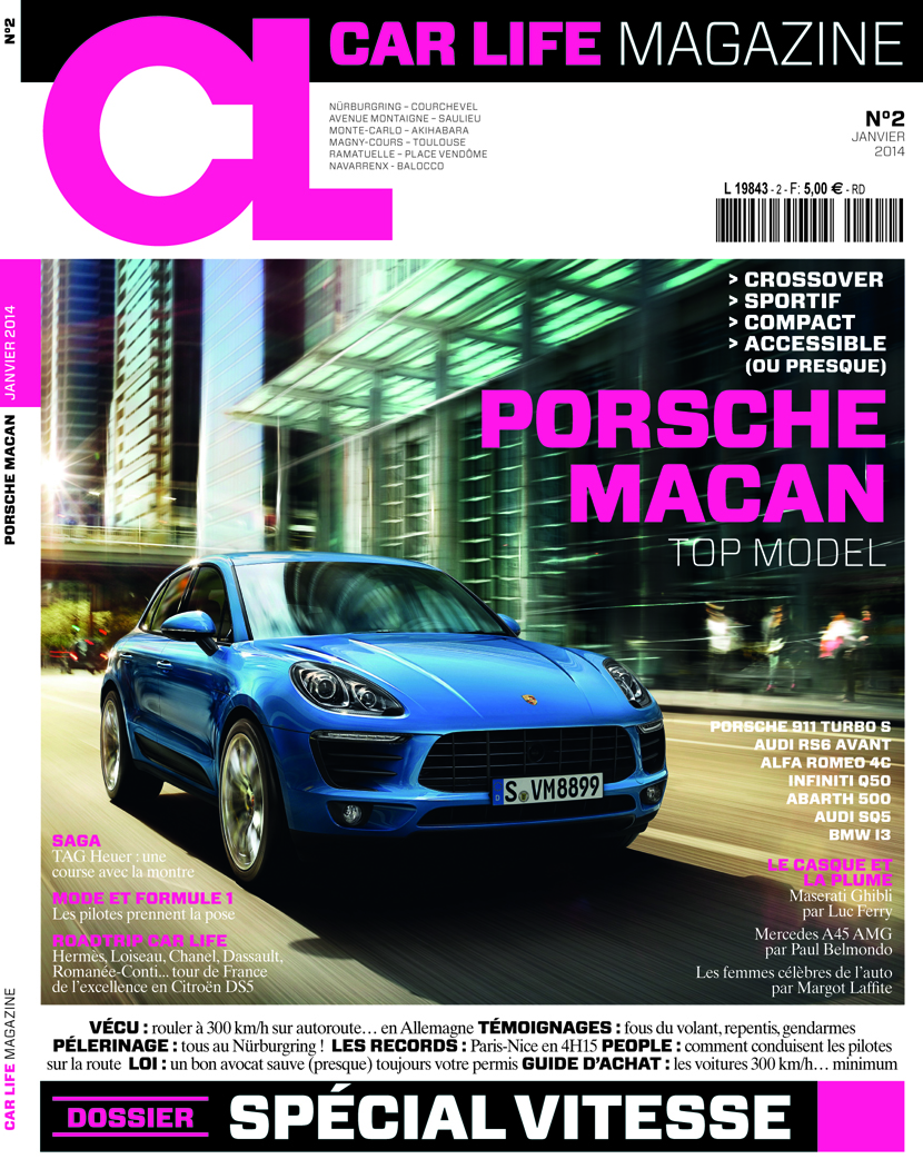 The French magazine I used to work for is called Car Life Magazine ...