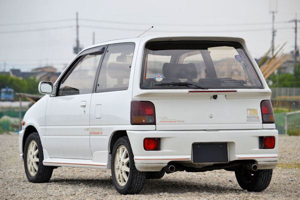 3 Cylinders Turbo 710kg 4wd Seems To Be Cool 1992 Daihatsu