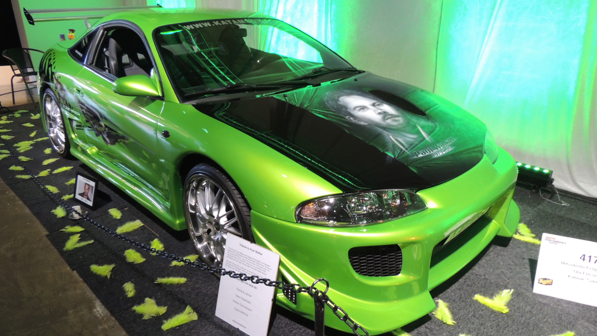 This Nissan Eclipse Was Built As A Tribute To Paul Walker RIP