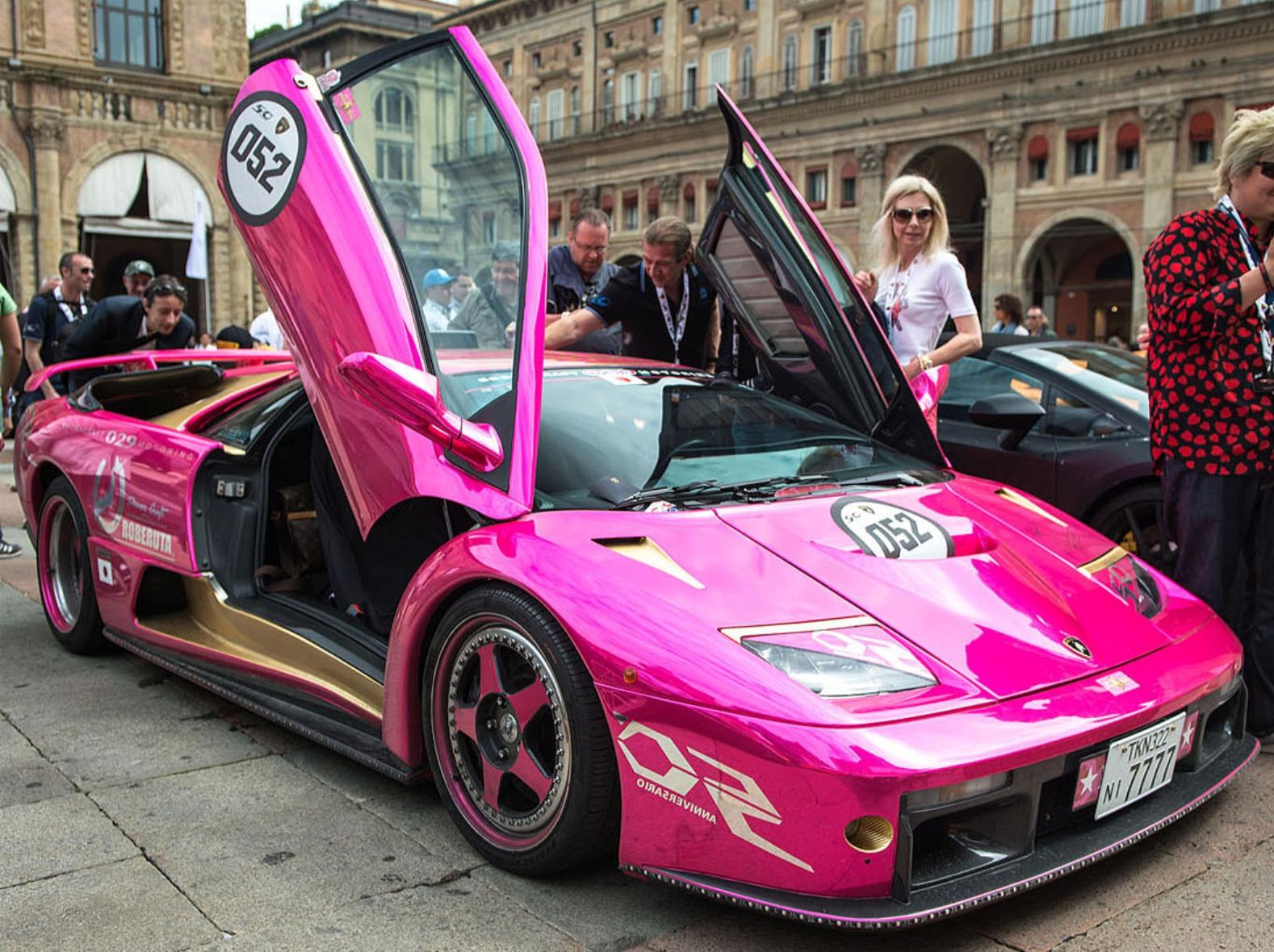 Amazing Lamborghini Diablo X Japanese Style