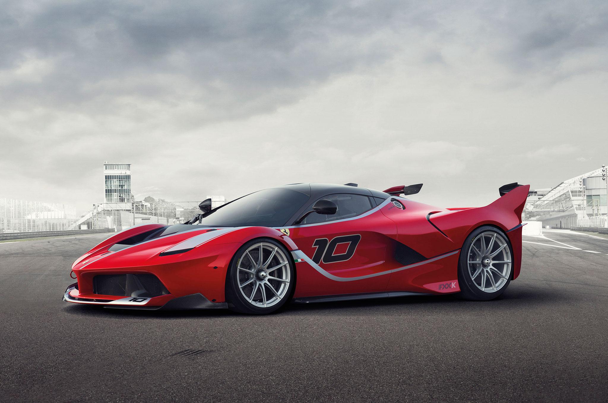 Insane Italian Stallion Ferrari Fxx K