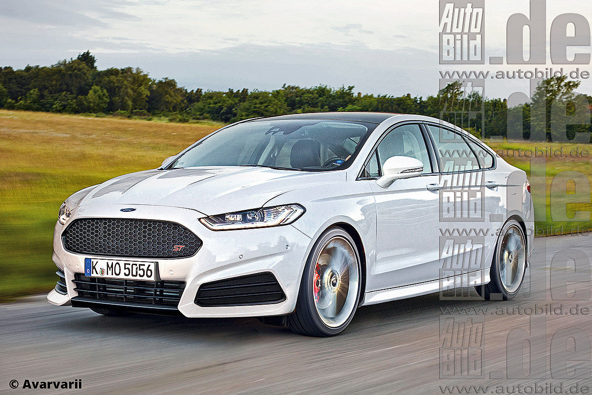 This Is How A Ford Mondeo St Could Look Like Do You Guys