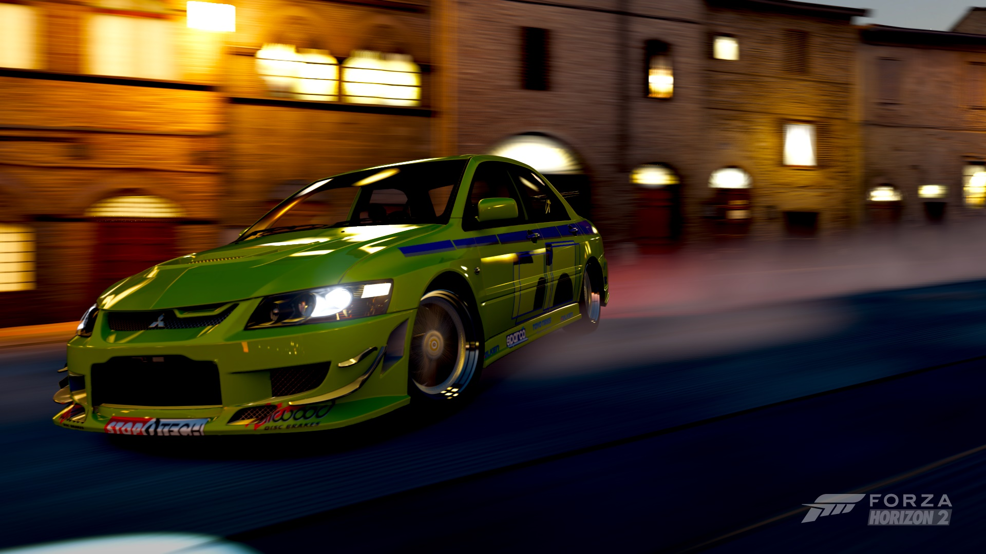 Paul Walker's Mitsubishi Evo from 2Fast 2Furious that I re-created