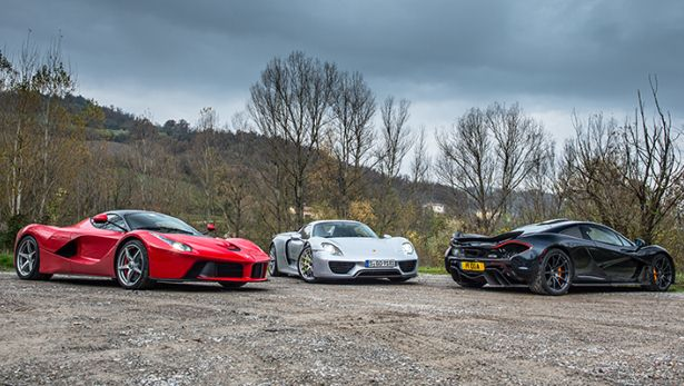 Supercar Saturday The Holy Trinity