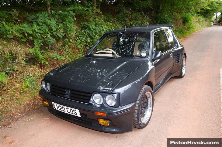 Incredible Peugeot/Cosworth factory car with interesting history ...