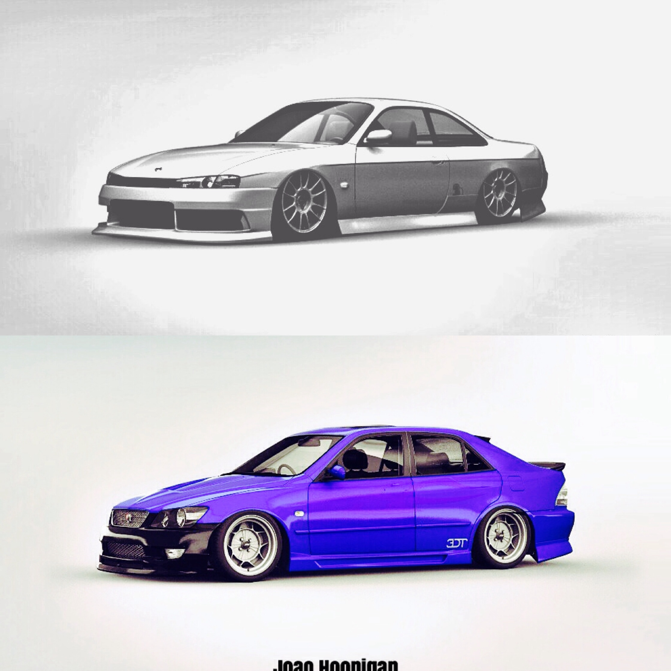 The s14 was my first 3D tuning tune and the Altezza was my second