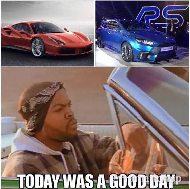 Used Cars Nwa >> New Ford Focus RS AND Ferrari's 488 GTB? Petrolheads be ...