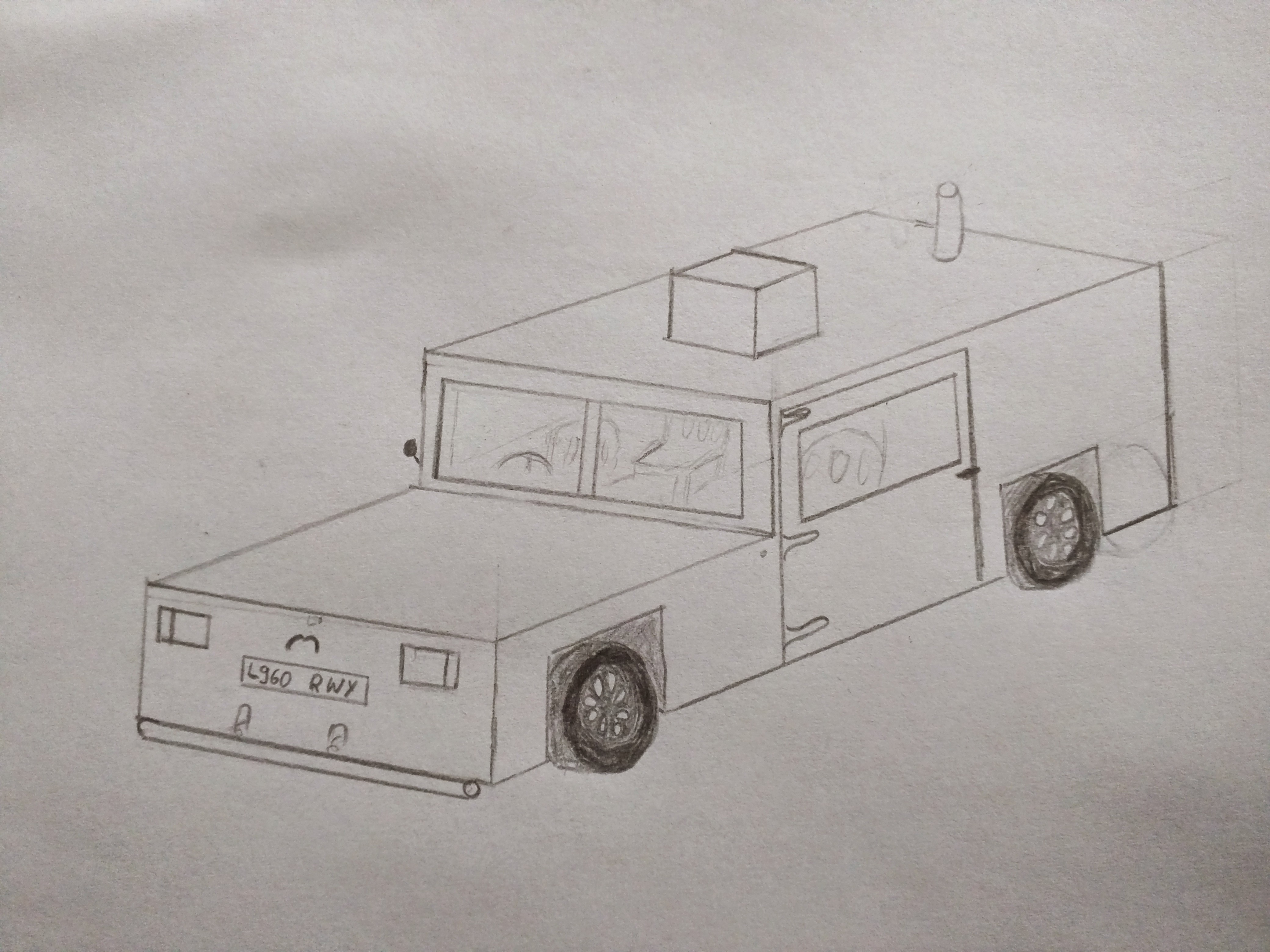 How to make nice drawing of a car, when your drawing skills are ...