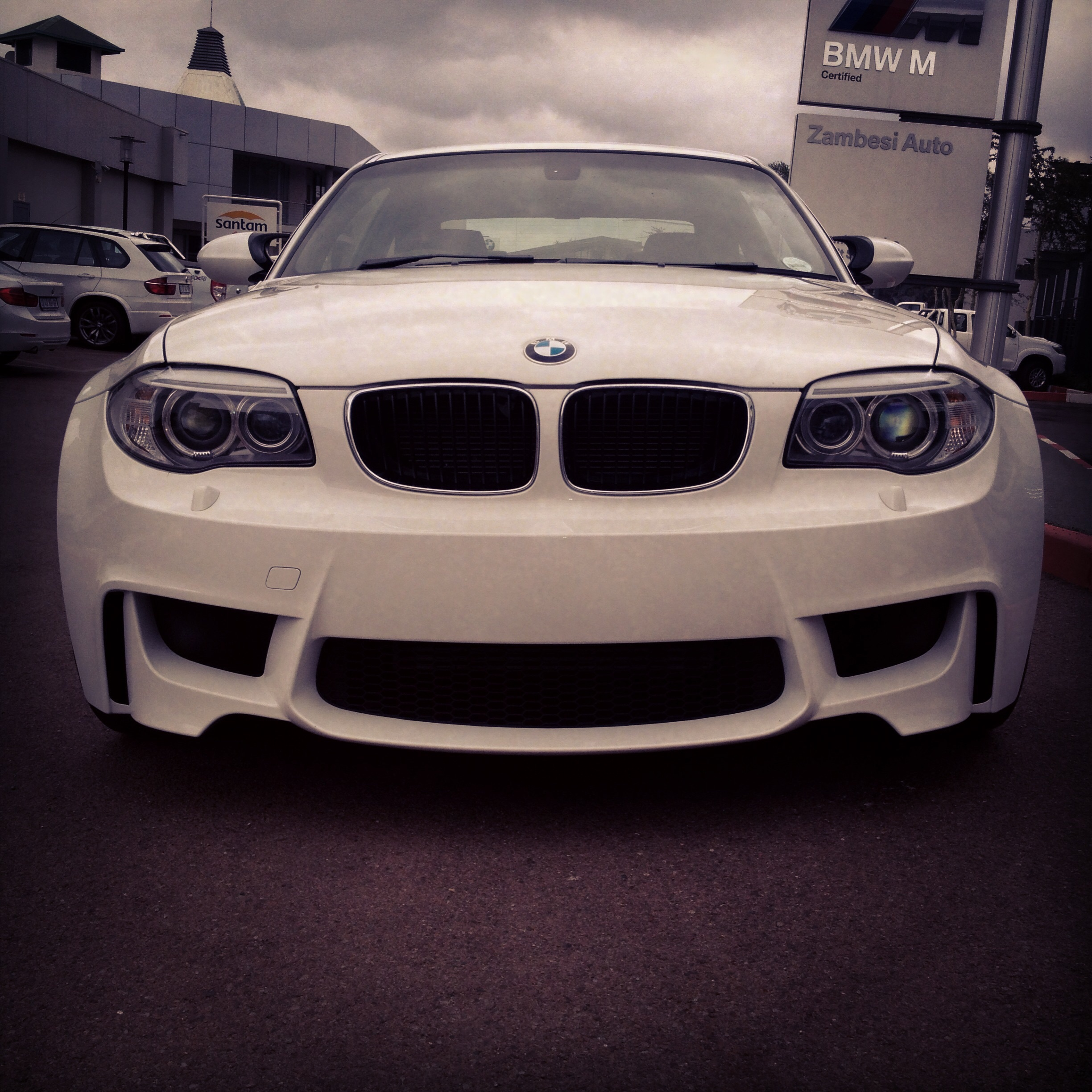 Mean Bmw 1m Coupe Photo Taken At Bmw Zambesi Auto