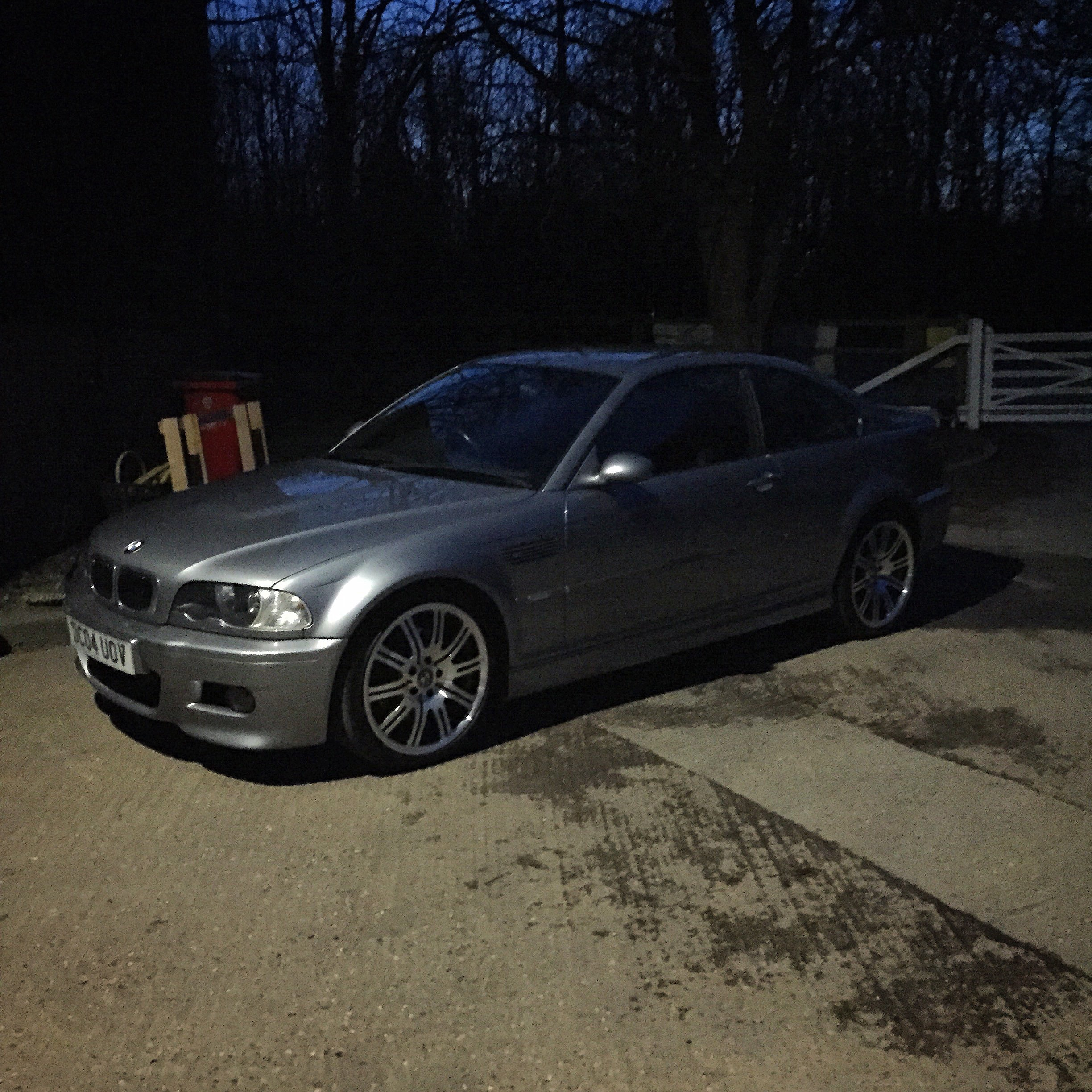 I'm now the proud owner of this BMW E46 M3. Grey, manual. So excited to  share more details (and better pics) with you guys!