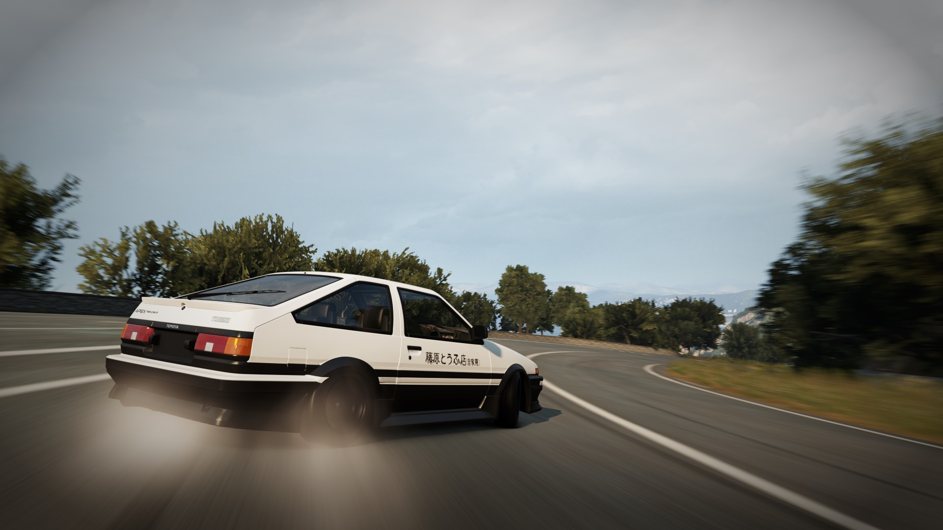 Initial d spec ae86 in forza horizon 2 - Ae86 initial d wallpaper ...