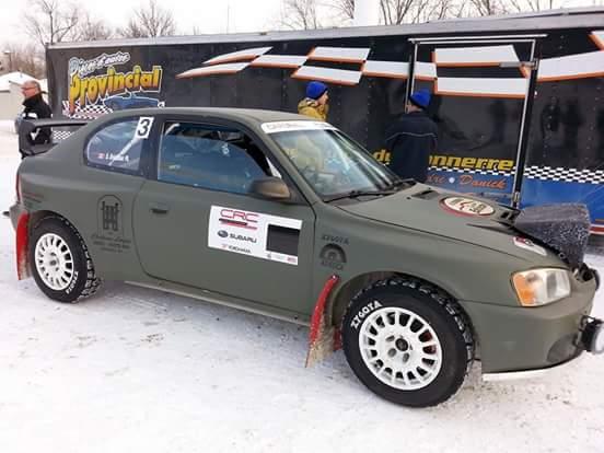 It S The Hyunbaru Evo Vii 2000 Entered In Canadian Rally