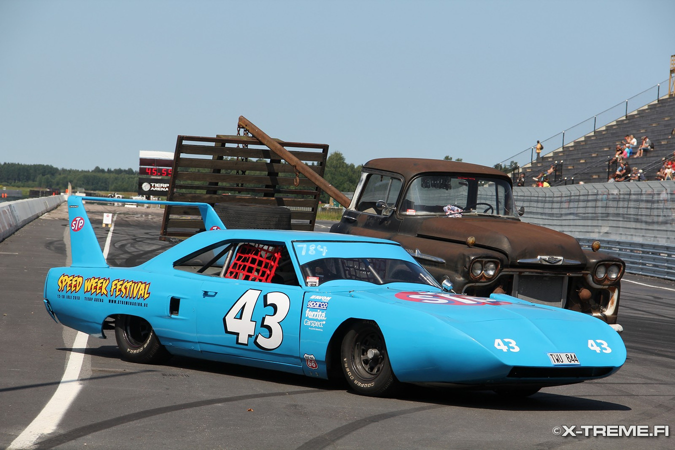 Plymouth Superbird And Chevrolet Viking