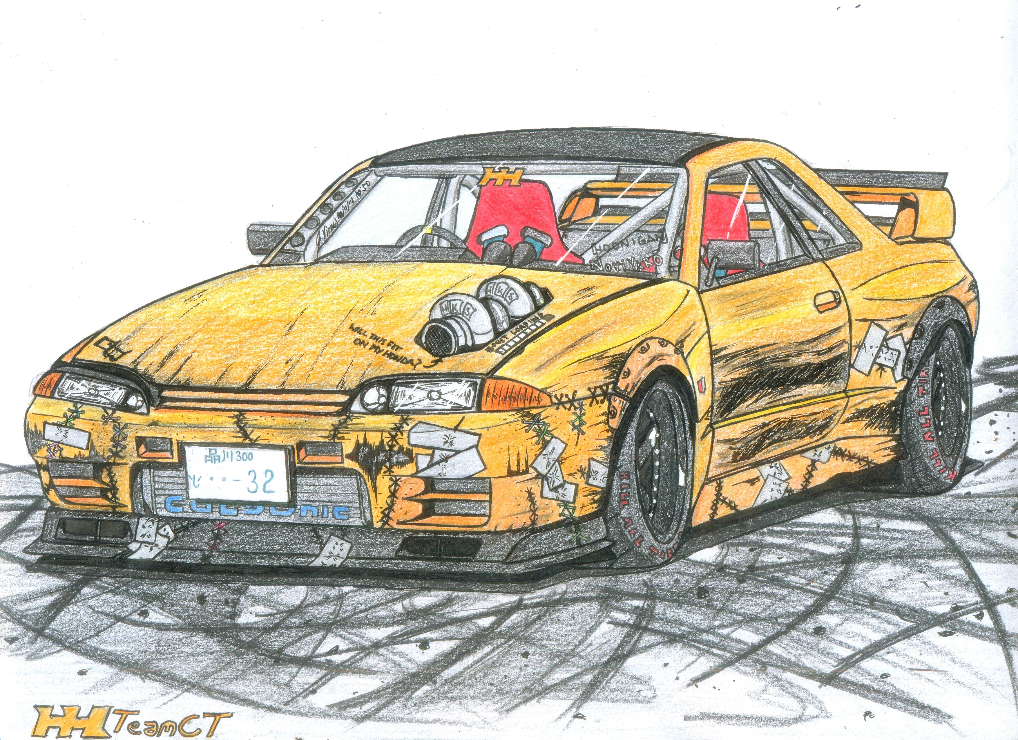 Here S A Skyline Gts T Type M Drift Missile Someone Requsted This