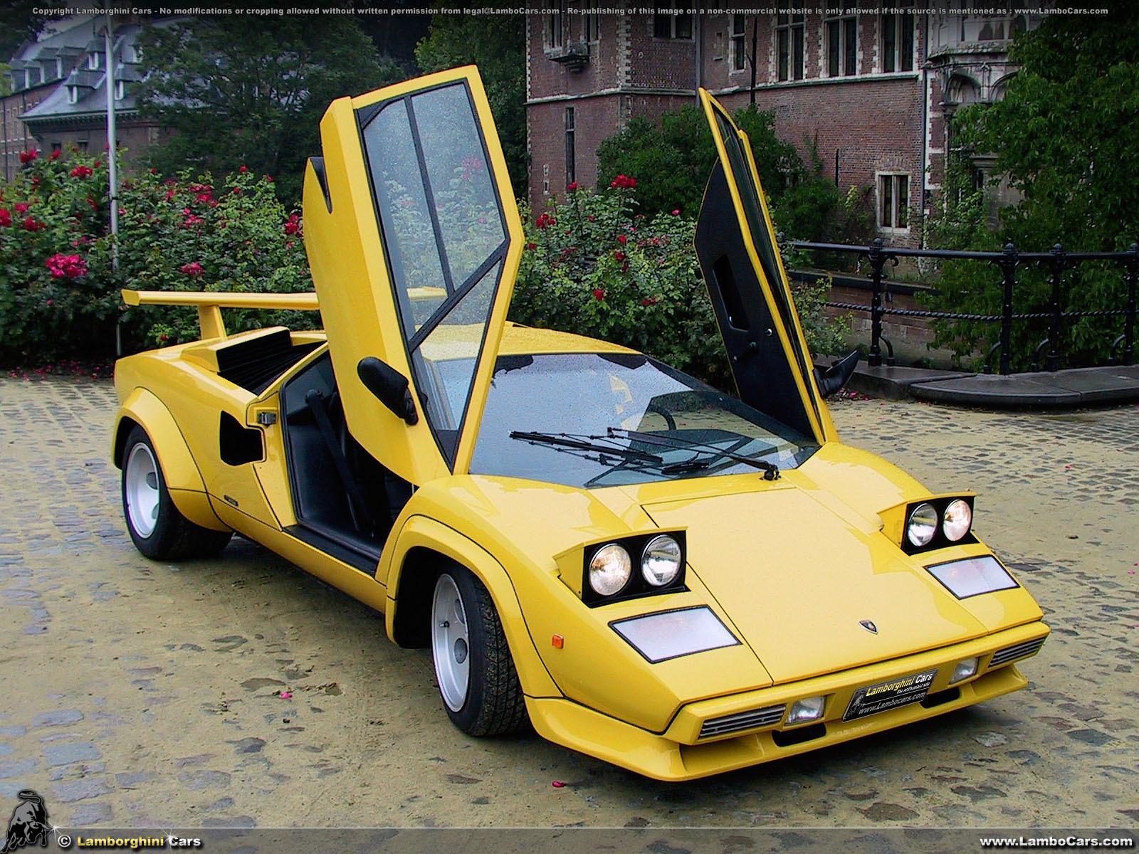 Lamborghini Countach Pop Up Lights