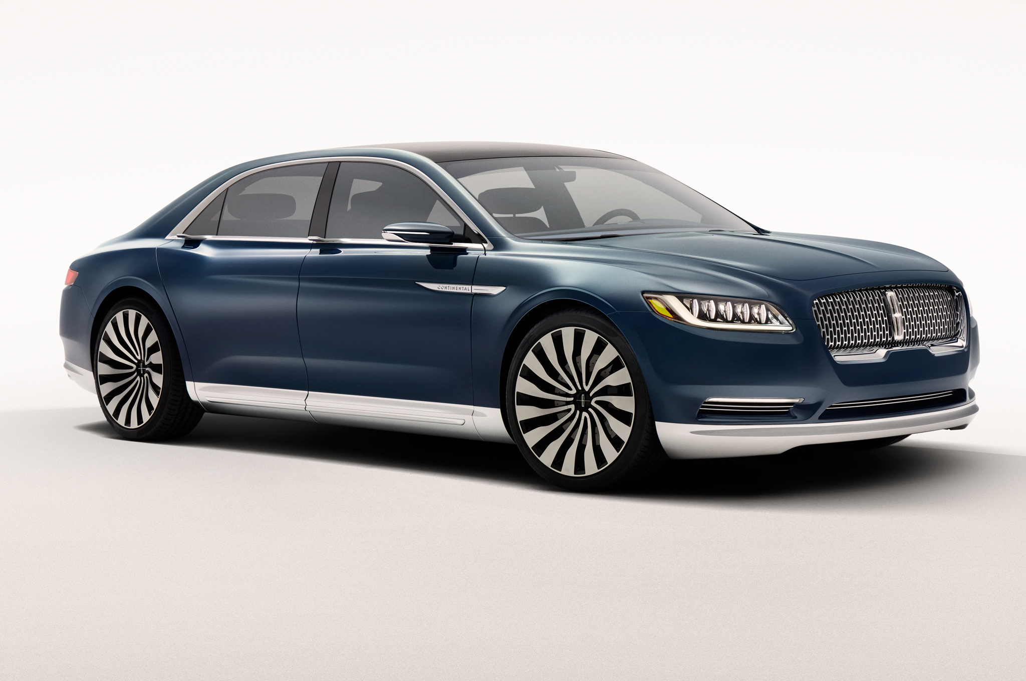 Lincoln Recently Showed Their Continental Concept Car To The World