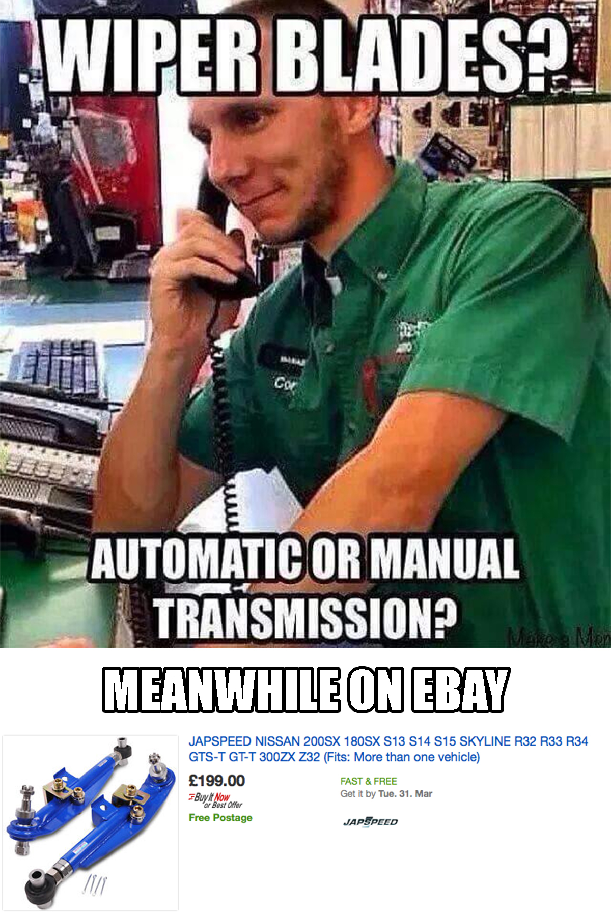 The Difference Between Auto Parts Stores And Ebay