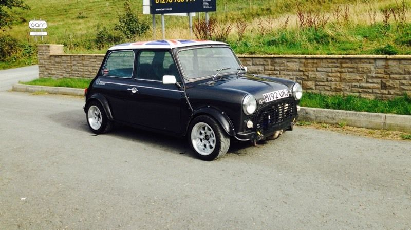 A Honda engined VTEC classic mini that was for sale in
