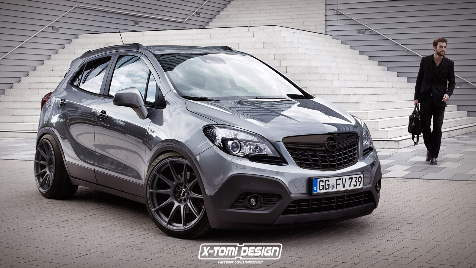 Opel Mokka tuning - Car Art