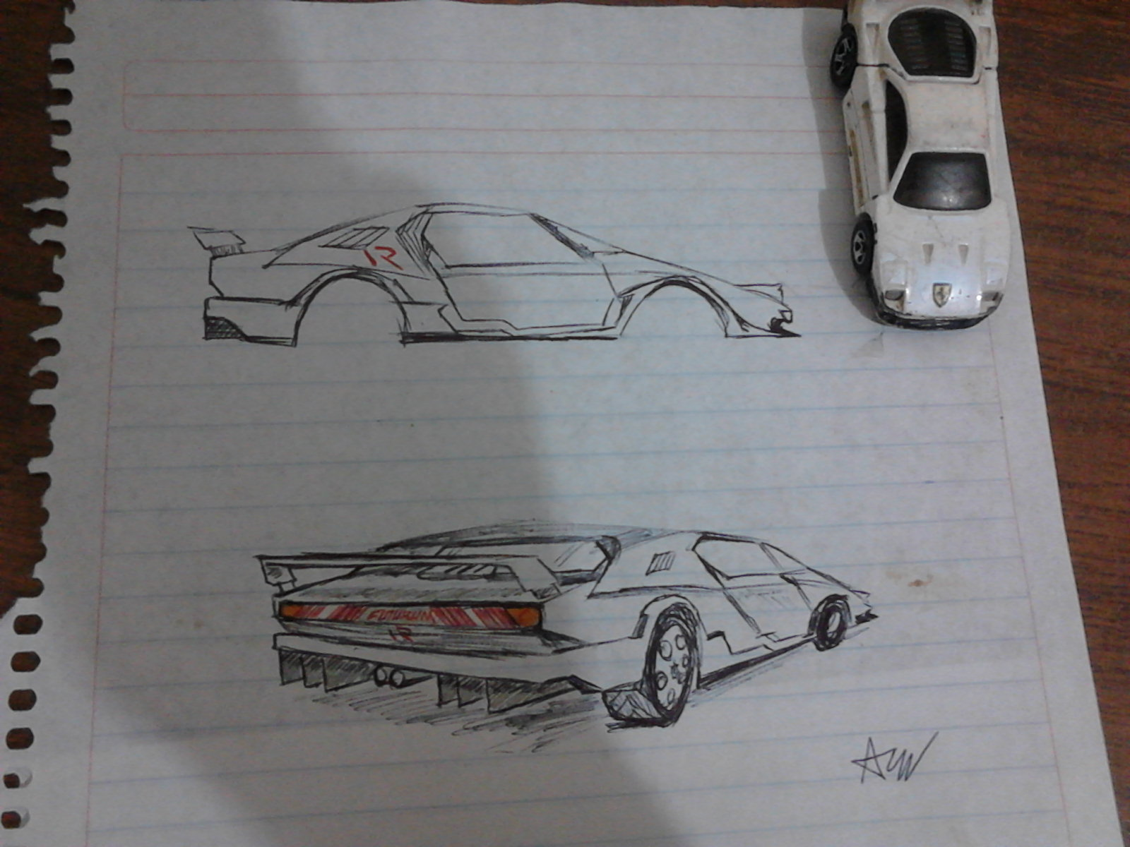 Outstanding How To Draw A Futuristic Car Frieze - Electrical and ...
