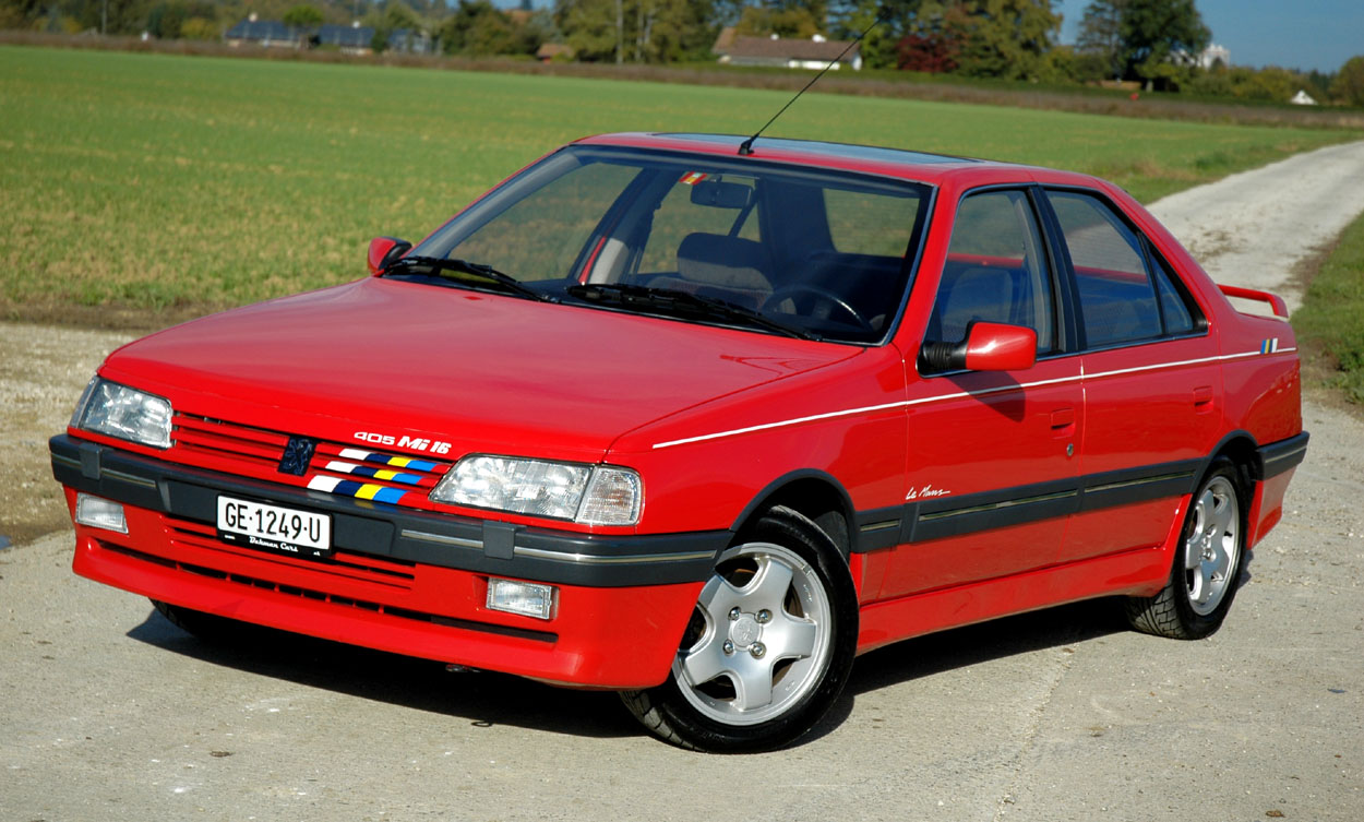 The Peugeot 405 Mi16 16 Valves 160hp And A 220kph Top Speed It Featured In The Peugeot Homage