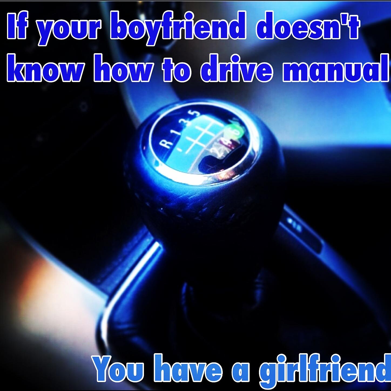 boyfriend doesn t drive