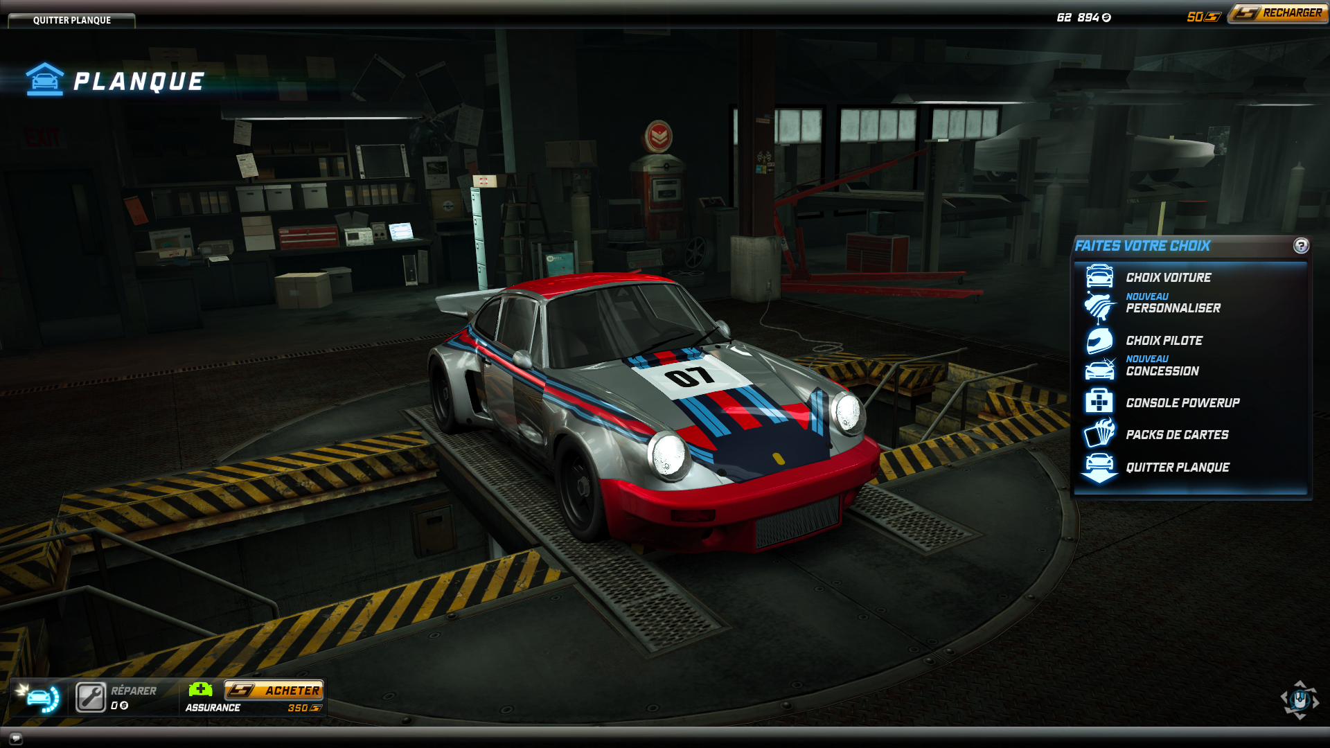 This is my Porsche 911 Carrera RSR 3 0 with Martini livery
