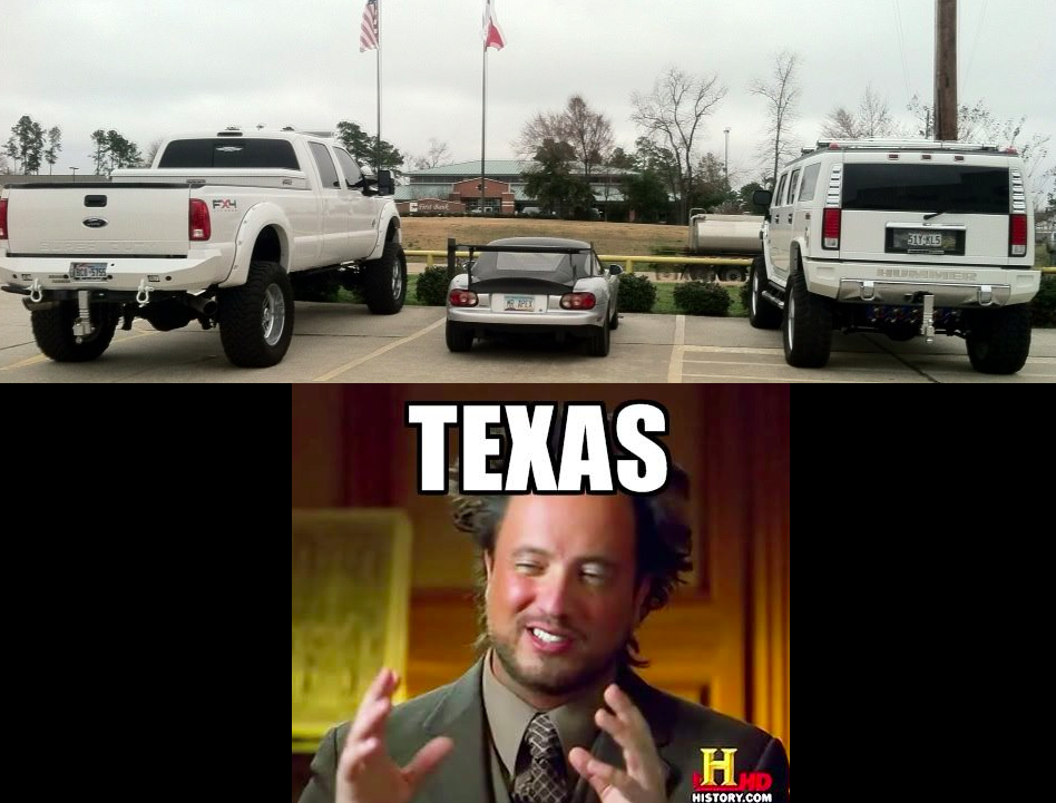 screen shot 2015 01 16 at 5.42 54b9a2262fe6f lost miata in texas,Texas History Funny Meme
