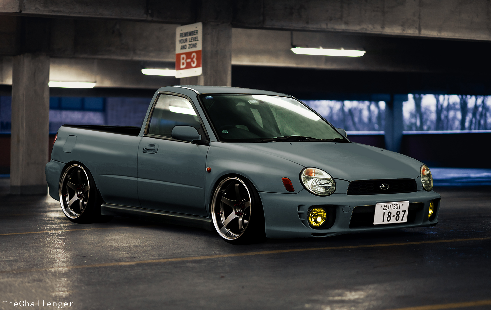 Your Thoughts On This Subaru Pick Up I Did On Photoshop P