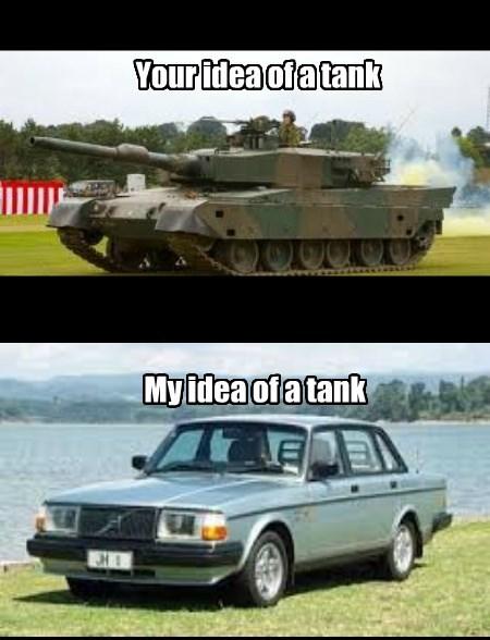 Volvos in a nutshell