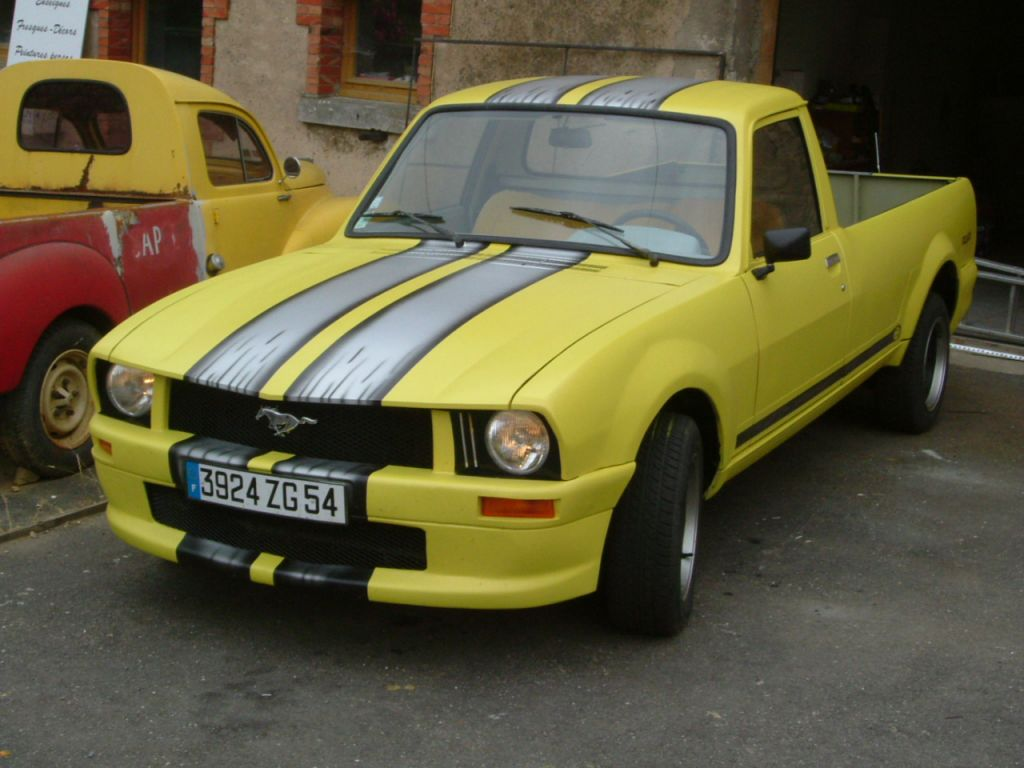 Someone Wanted To Beef Up Their Peugeot 504 Pickup So He