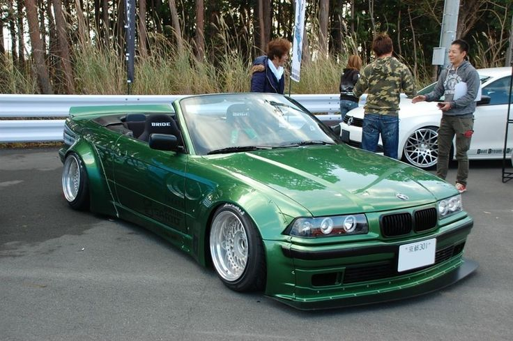 Not sure if I like the e36 rocket bunny or not? What do you