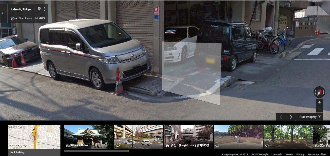 Lucky R34 GTR Find That I Found On Google Maps.   Japanese