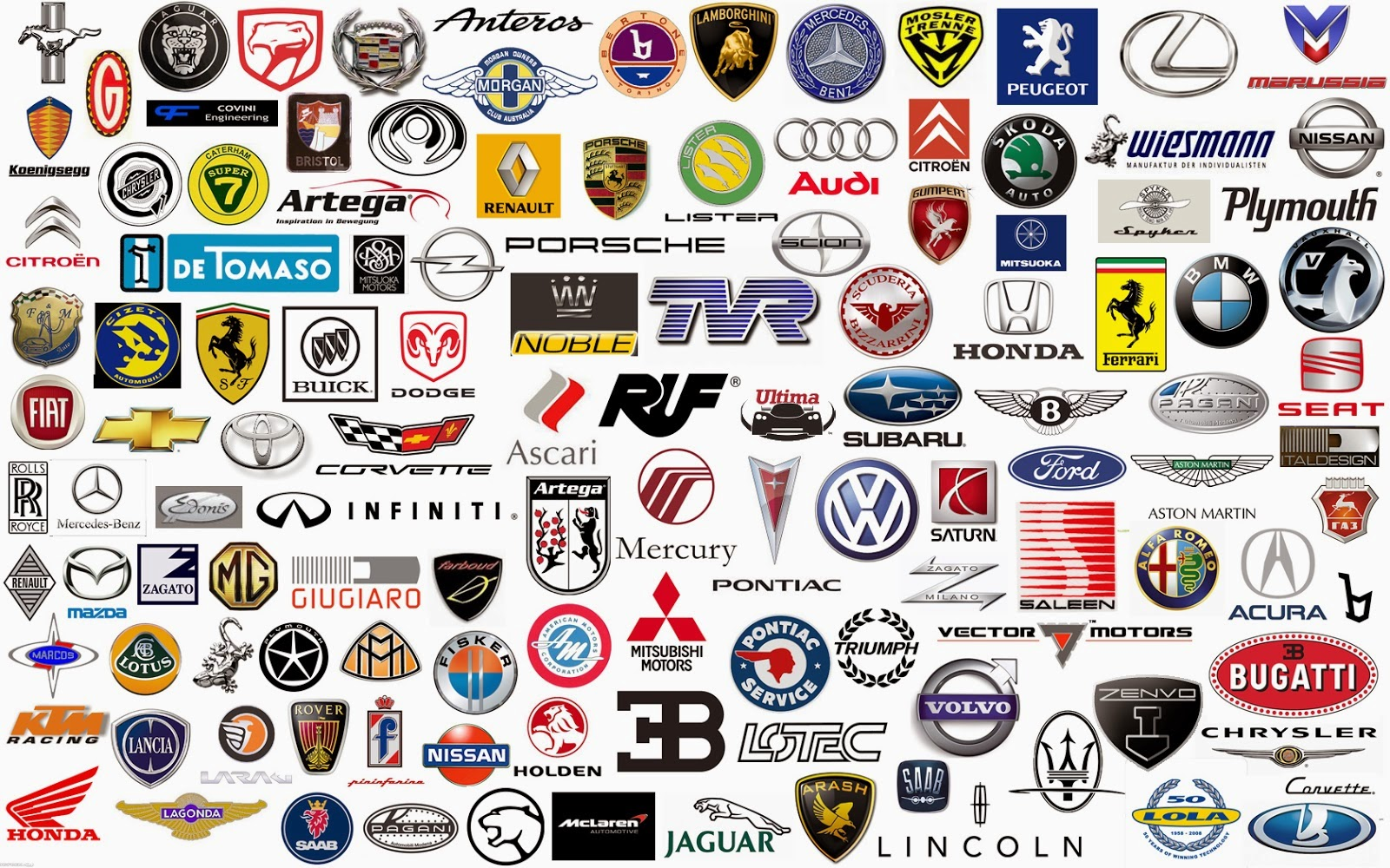 Whats Your Favourite Car Manufacturer Logo - Car sign and name